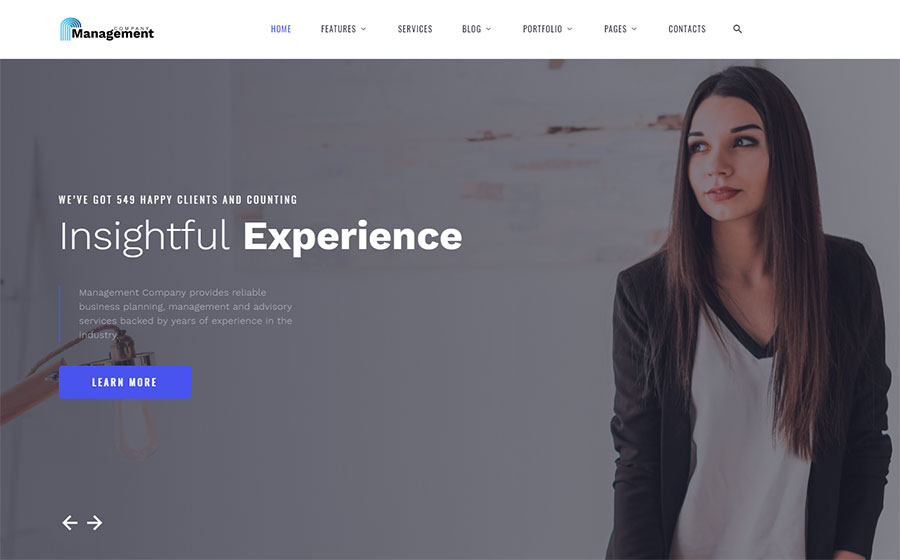 Consulting Multipage HTML Template